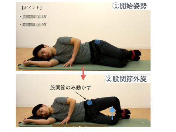 股関節外旋トレーニング